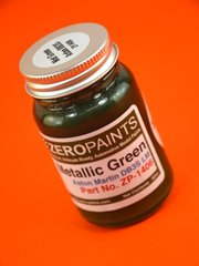 Zero Paints: Paint - Aston Martin DBR3S LM Metallic Green - 60ml image