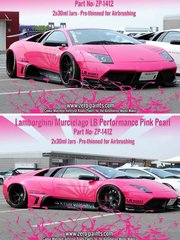 Zero Paints: Paints set - Lamborghini Murcielago LB Performance Pink Pearl - 2x30ml