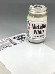 Zero Paints: Pintura - Blanco metalizado - 1 x 60ml