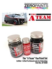 Zero Paints: Paints set - The A team van