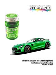 Zero Paints: Paint - Mercedes Benz AMG GT R Green Hell Mango - 1 x 60ml - for Tamiya references TAM24345 and 24345