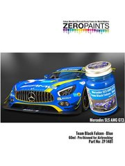 Zero Paints: Paint - Team Black Falcon blue - 1 x 60ml - for Studio27 reference ST27-DC1207