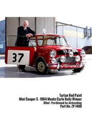 Zero Paints: Paint - Tartan Red Mini Cooper S 1964 - 60ml - for Revell reference REV07064