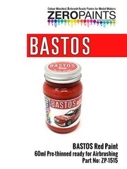 Zero Paints: Paint - Bastos red - 60ml