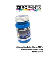 Zero Paints: Paint - Calsonic blue - 1 x 60ml