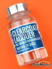 Zero Paints: Clearcoat - Clearcoat gloss clear lacquer pre-thinned - 1 x 60ml - for airbrush
