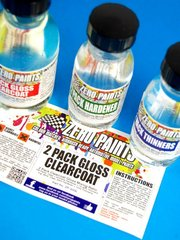 Zero Paints: Barniz - Barniz Laca brillante bicomponente - 2 Pack Clear Coat 100ml (Urethane) FULL PACK - para Aerógrafo