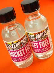 Zero Paints: Clearcoat - Rocket Fuel - 2 Pack Clearcoat Super Accelerator - for Airbrush
