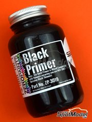 Zero Paints: Primer - Black Primer - Micro Filler - 1 x 120ml - for Airbrush
