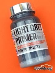 Zero Paints: Imprimación - Imprimación gris clara - Light Grey Primer - 120ml