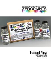 Zero Paints: Barniz - Diamond Finish - 2 Pack GLOSS Clearcoat System - 2K Urethane - 2 x 60ml + 1 x 100ml
