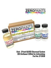 Zero Paints: Barniz - Etch - 2 Pack GLOSS Clearcoat System 2K Urethane - 220ml