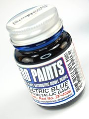 Zero Paints: Pintura - Azul eléctrico candy - Candy Electric Blue Paint - 30ml - para Aerógrafo