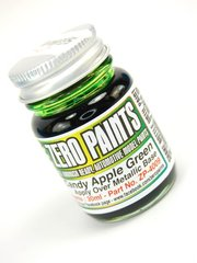 Zero Paints: Pintura - Verde manzana candy - Candy Apple Green Paint - 1 x 30ml - para Aerógrafo