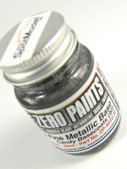 Zero Paints: Paint - Extra Fine Metallic Silver Base for Candy Paints - 30ml - for Airbrush image
