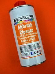 Cleaner  by Zero Paints - Airbrush Cleaner - 250ml   - for Airbrush image