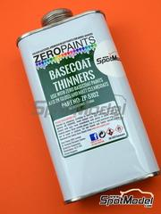Zero Paints: Disolvente - Disolvente - Basecoat thinners - 250 ml