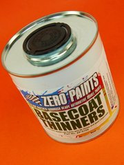 Zero Paints: Thinner - Basecoat Thinners - 500ml - for Airbrush