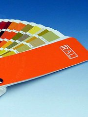 Zero Paints: Book - RAL K7 Paints Fan Chart image