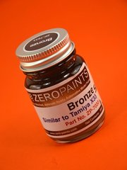 Zero Paints: Paint - Bronze - Similar to X-33 - 1 x 30ml