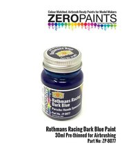 Zero Paints: Pintura - Azul Rothmans Racing Dark Blue Porsche Honda - 1 x 30ml