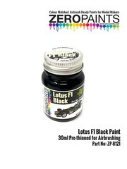 Zero Paints: Pintura - Negro Lotus F1 Black - 1 x 30ml