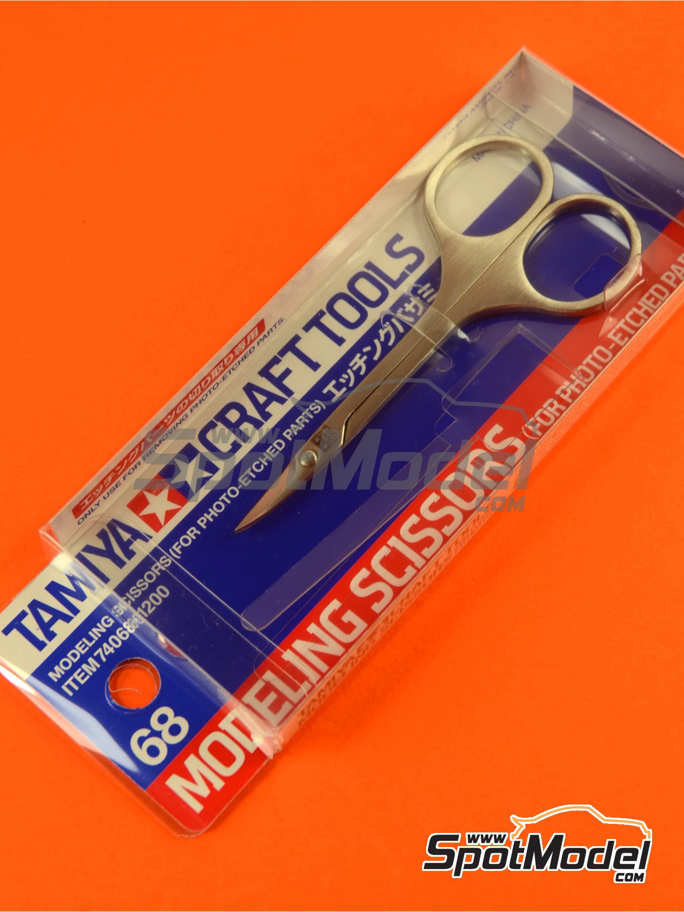 Scissors for phoetched parts | Tools manufactured by Tamiya (ref. TAM74068) image