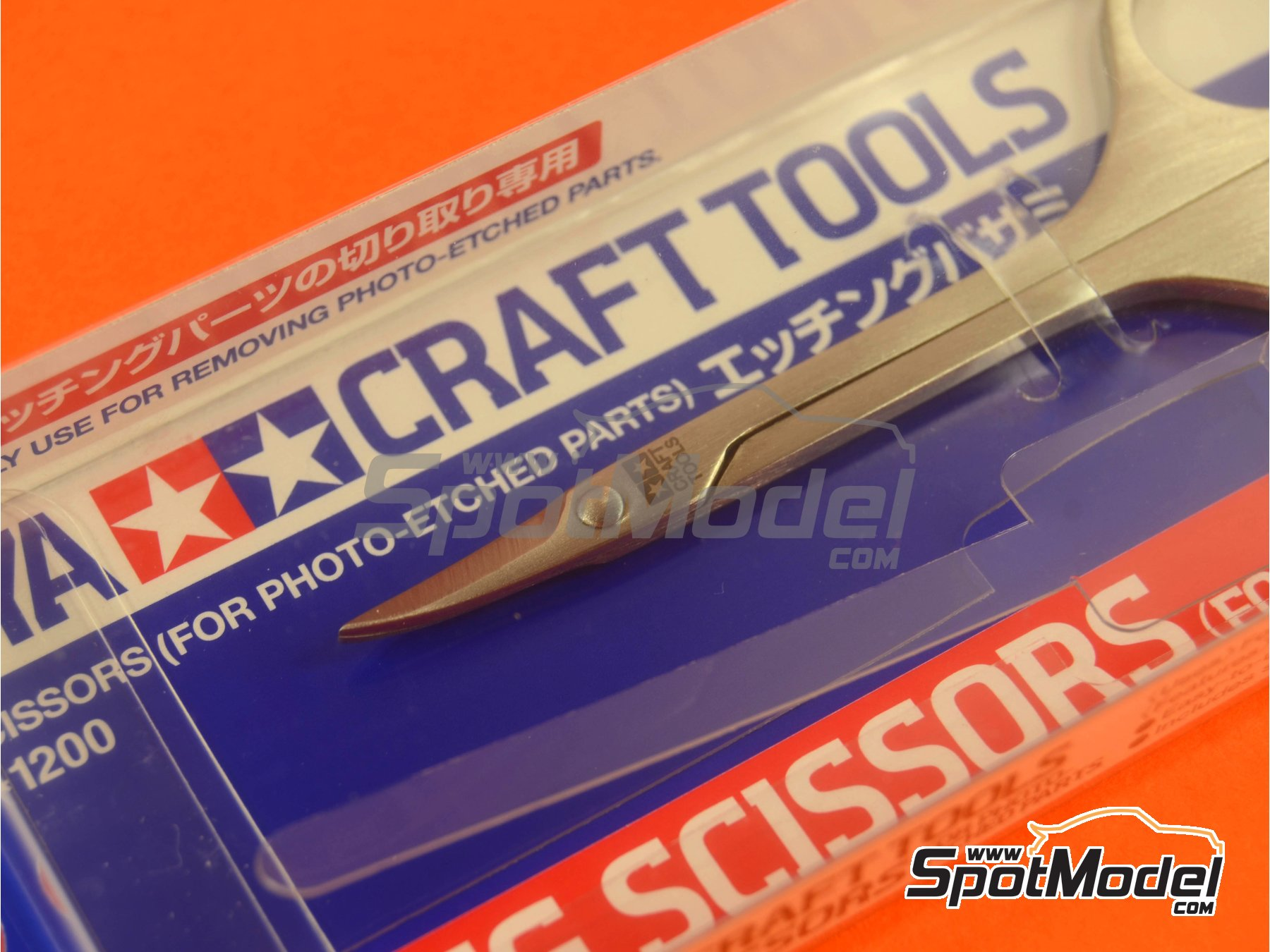 Image 2: Scissors for phoetched parts | Tools manufactured by Tamiya (ref. TAM74068)