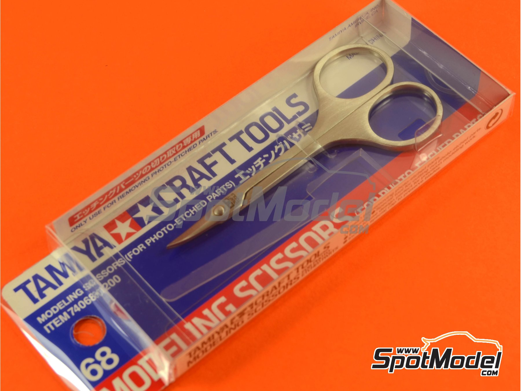 Image 3: Scissors for phoetched parts | Tools manufactured by Tamiya (ref. TAM74068)