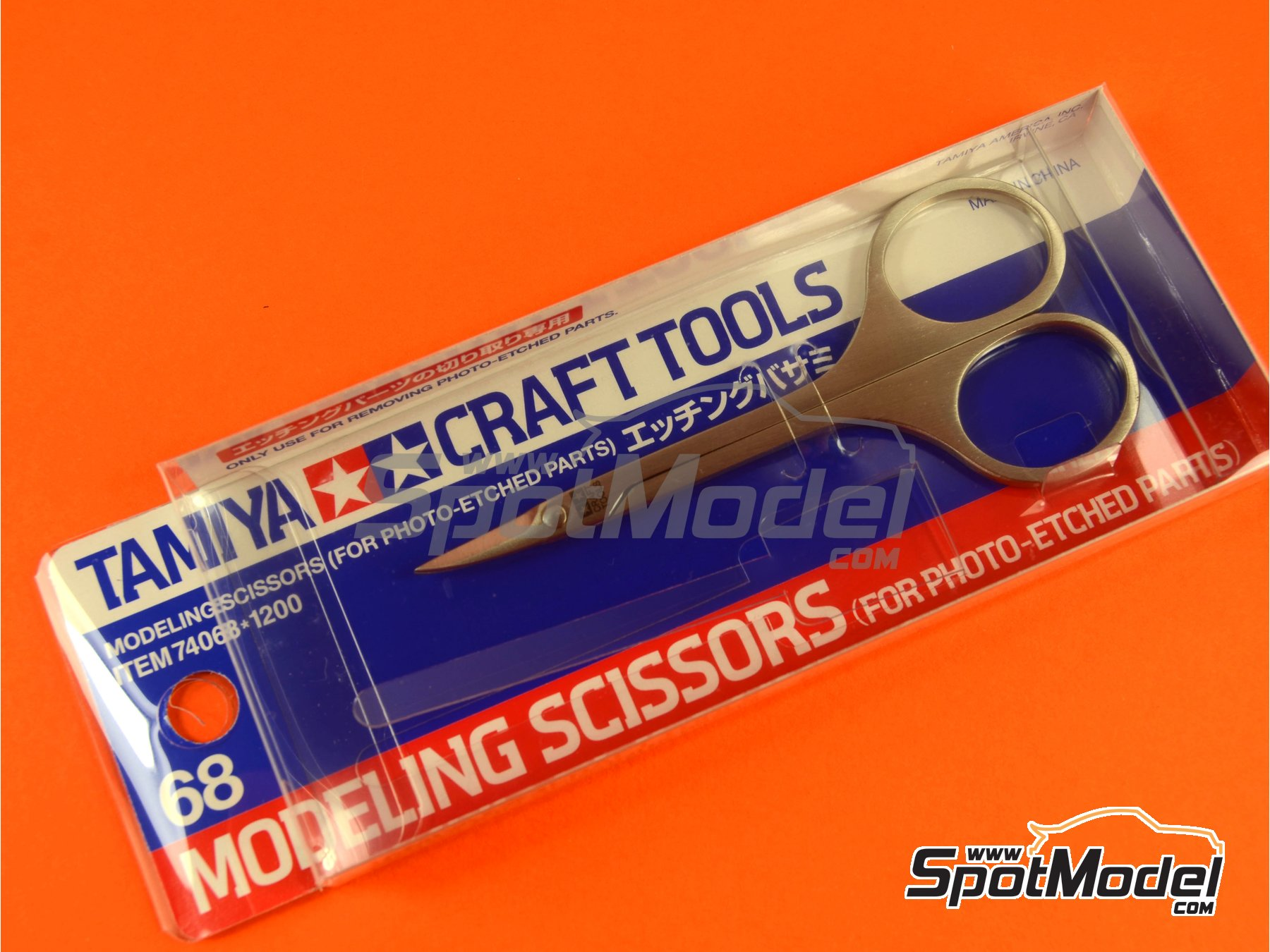 Image 5: Scissors for phoetched parts | Tools manufactured by Tamiya (ref. TAM74068)