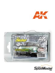 AK Interactive: Set de pinturas - Efectos de nieve - Snow effects - 1 x 30ml + 2 x 17ml