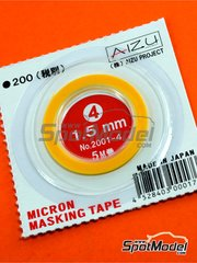 Aizu Project: Masks - Micron masking tape 1,5mm x 5m