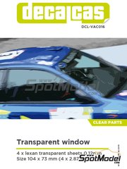 Decalcas: Transparentes - Transparent window - otros materiales - 4 unidades