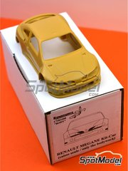 Renaissance Models: Bodywork 1/24 scale - Renault Megane Kit-Car - resin parts - for Renaissance Models reference CTR2408 image