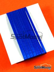 Tuner Model Manufactory: Detail - Material for seat belts - 500x2mm and 500x3mm - blue