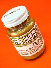 Zero Paints: Pintura - Dorado - Gold - Similar a TS-21 - 1 x 60ml - para Aerógrafo