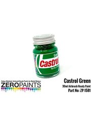 Zero Paints: Pintura - Verde Castrol - 1 x 30ml
